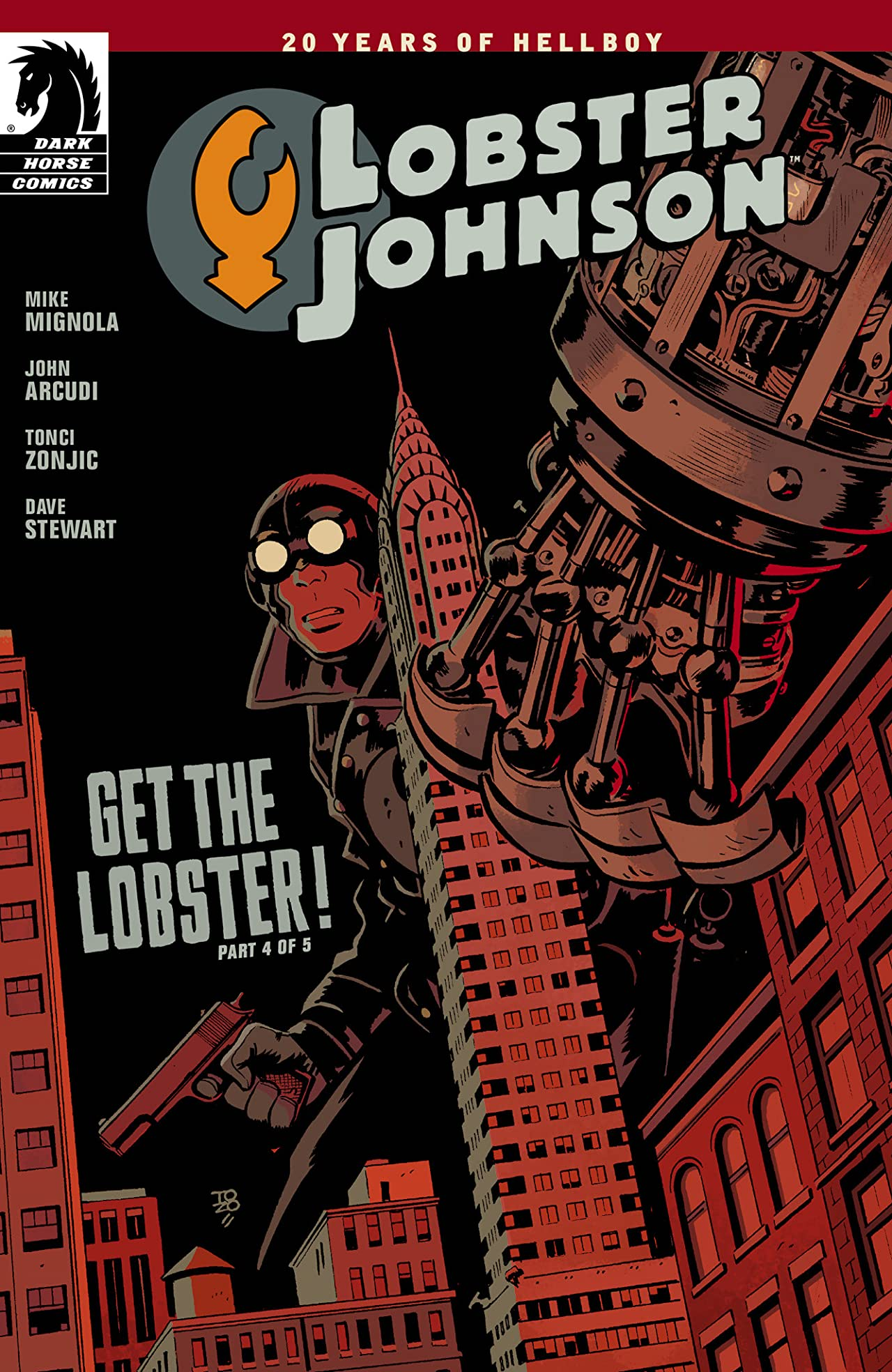 Lobster Johnson: Get the Lobster #4
