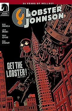 Lobster Johnson: Get the Lobster #4