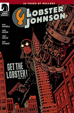 Lobster Johnson: Get the Lobster No.4