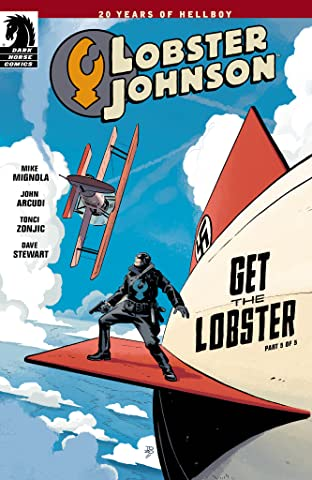 Lobster Johnson: Get the Lobster No.5