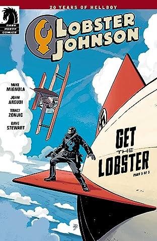 Lobster Johnson: Get the Lobster #5