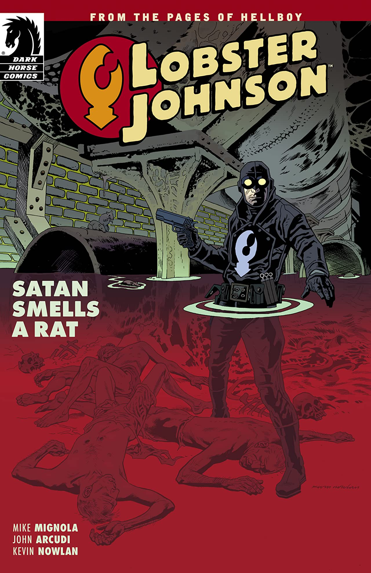 Lobster Johnson: Satan Smells A Rat #3