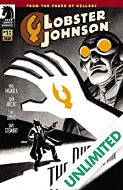 Lobster Johnson: The Burning Hand #1