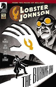 Lobster Johnson: The Burning Hand #1