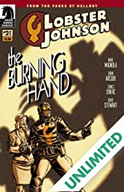 Lobster Johnson: The Burning Hand #2