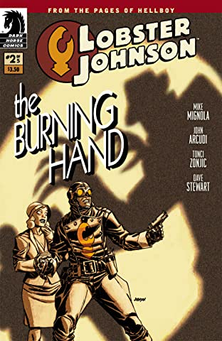 Lobster Johnson: The Burning Hand No.2