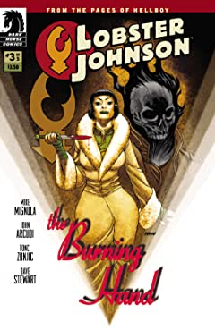 Lobster Johnson: The Burning Hand #3