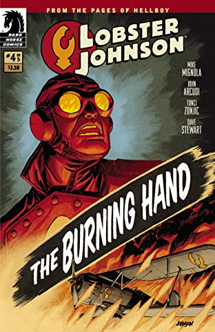 Lobster Johnson: The Burning Hand No.4