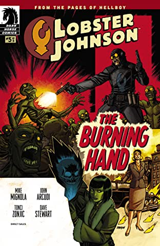 Lobster Johnson: The Burning Hand No.5