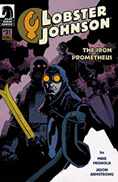 Lobster Johnson: The Iron Prometheus #2