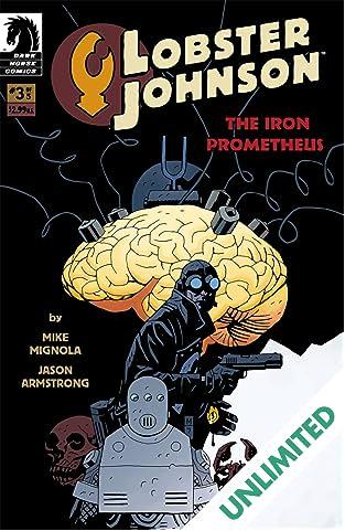 Lobster Johnson: The Iron Prometheus #3