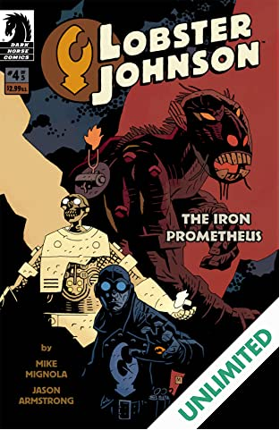Lobster Johnson: The Iron Prometheus #4