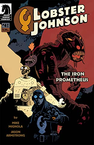 Lobster Johnson: The Iron Prometheus No.4