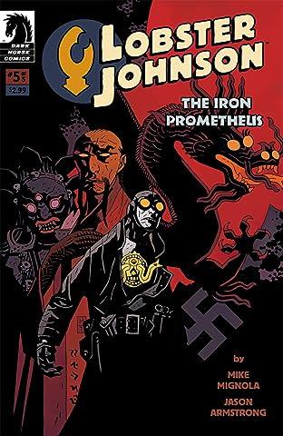 Lobster Johnson: The Iron Prometheus No.5