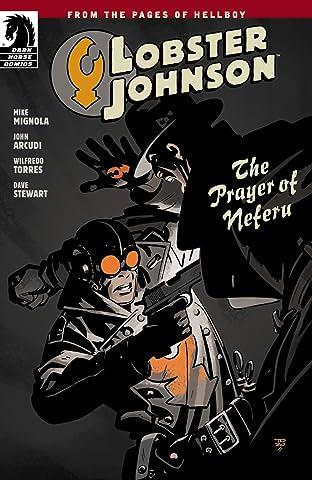 Lobster Johnson: The Prayer of Neferu