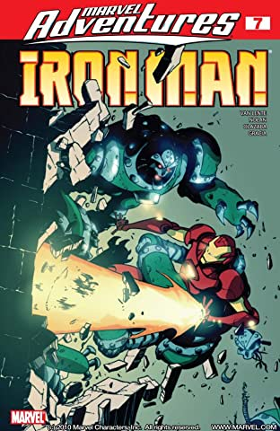 Marvel Adventures Iron Man (2007-2008) No.7