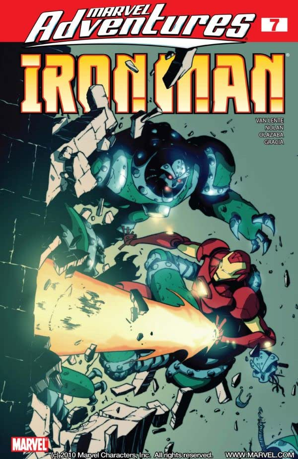 Marvel Adventures Iron Man #7