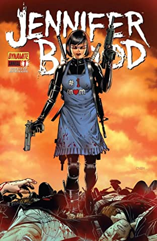 Jennifer Blood Annual #1