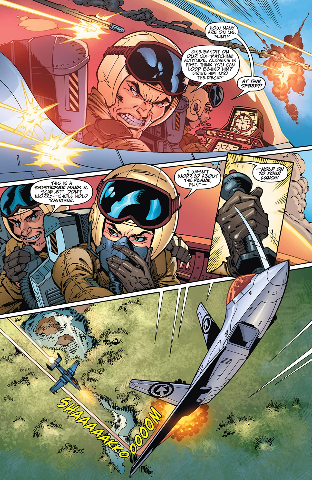 Danger Girl/G.I. Joe #1 (of 4)