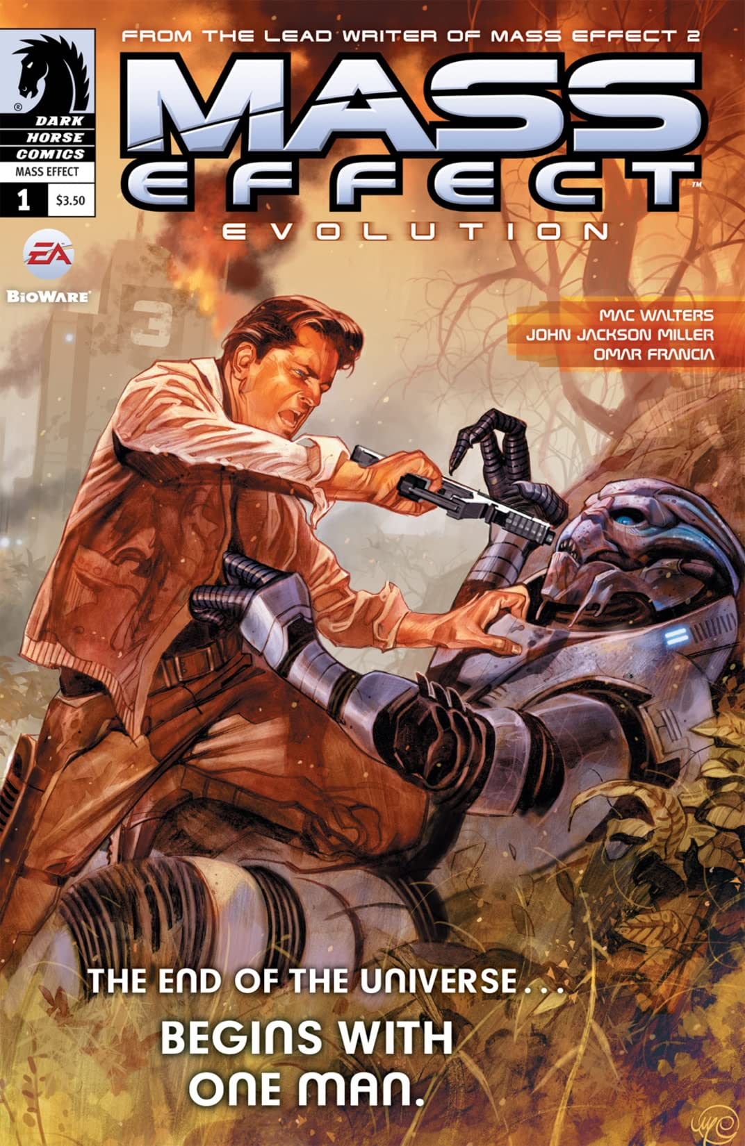 Mass Effect: Evolution #1