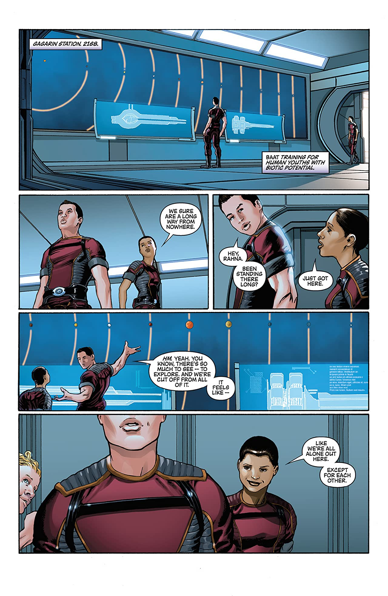 Mass Effect: Foundation #4