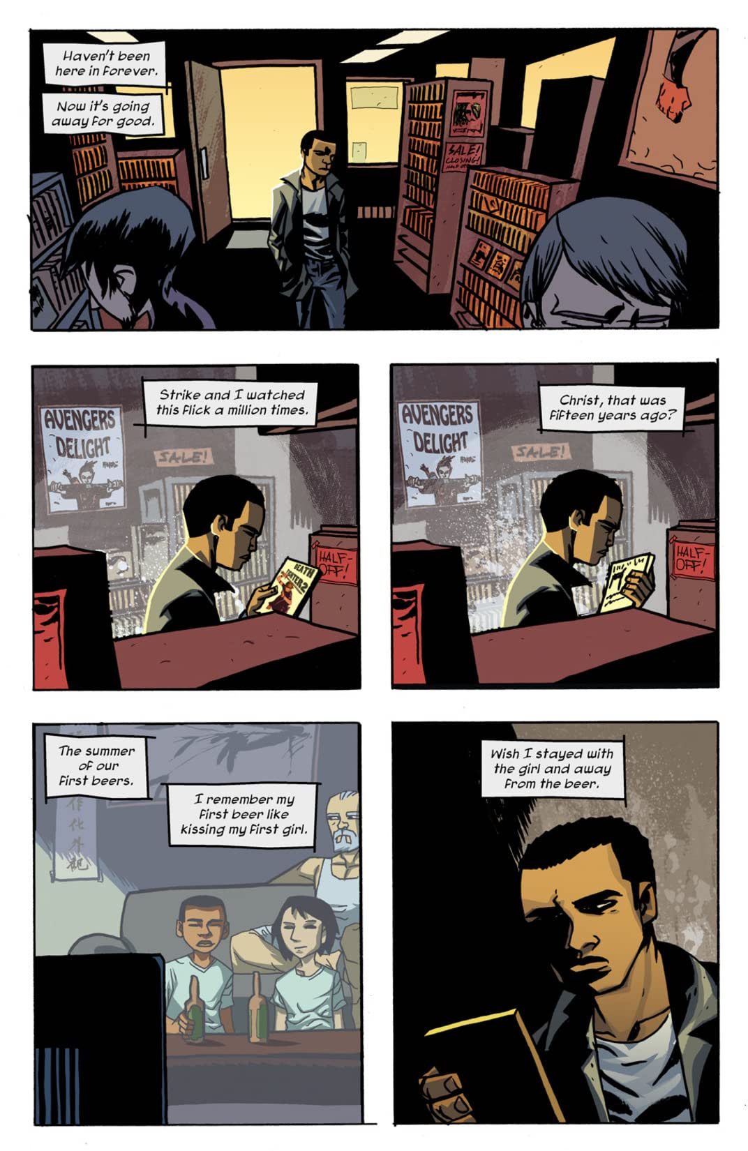 Michael Avon Oeming's The Victories #4