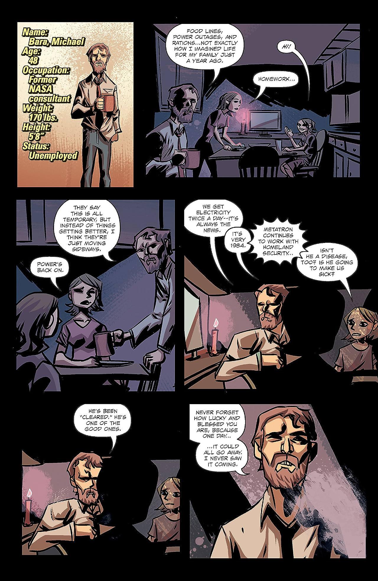 Michael Avon Oeming's The Victories #6: Posthuman Part 1