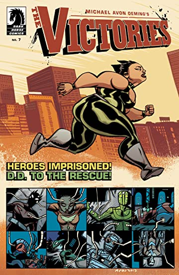 Michael Avon Oeming's The Victories #7: Posthuman Part 2