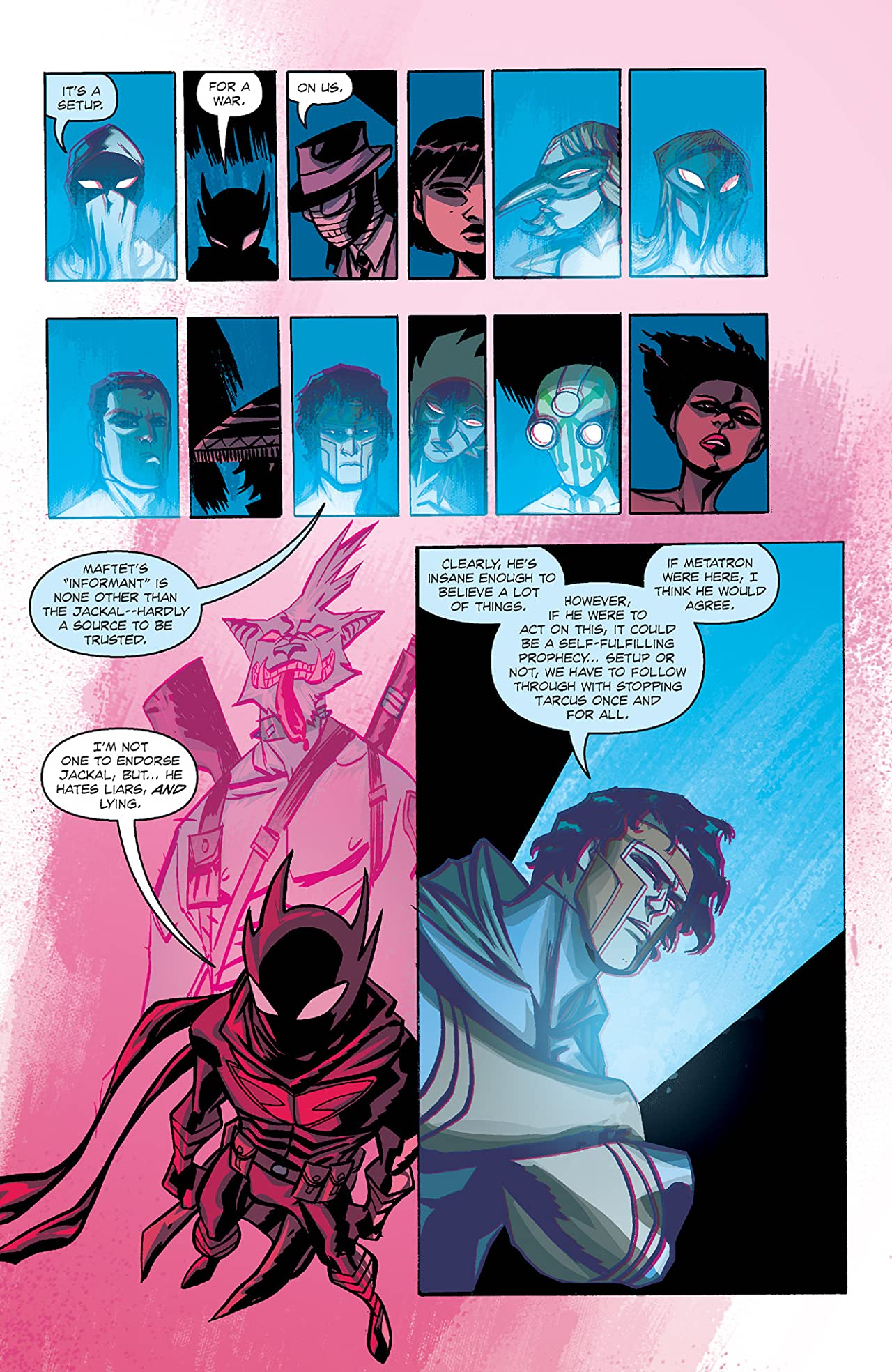 Michael Avon Oeming's The Victories: Transhuman #3