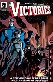 Michael Avon Oeming's The Victories: Transhuman #1