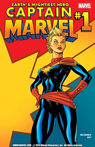 Captain Marvel (2012-2013) No.1