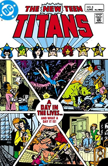 New Teen Titans (1980-1988) #8