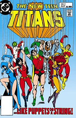 New Teen Titans (1980-1988) #9