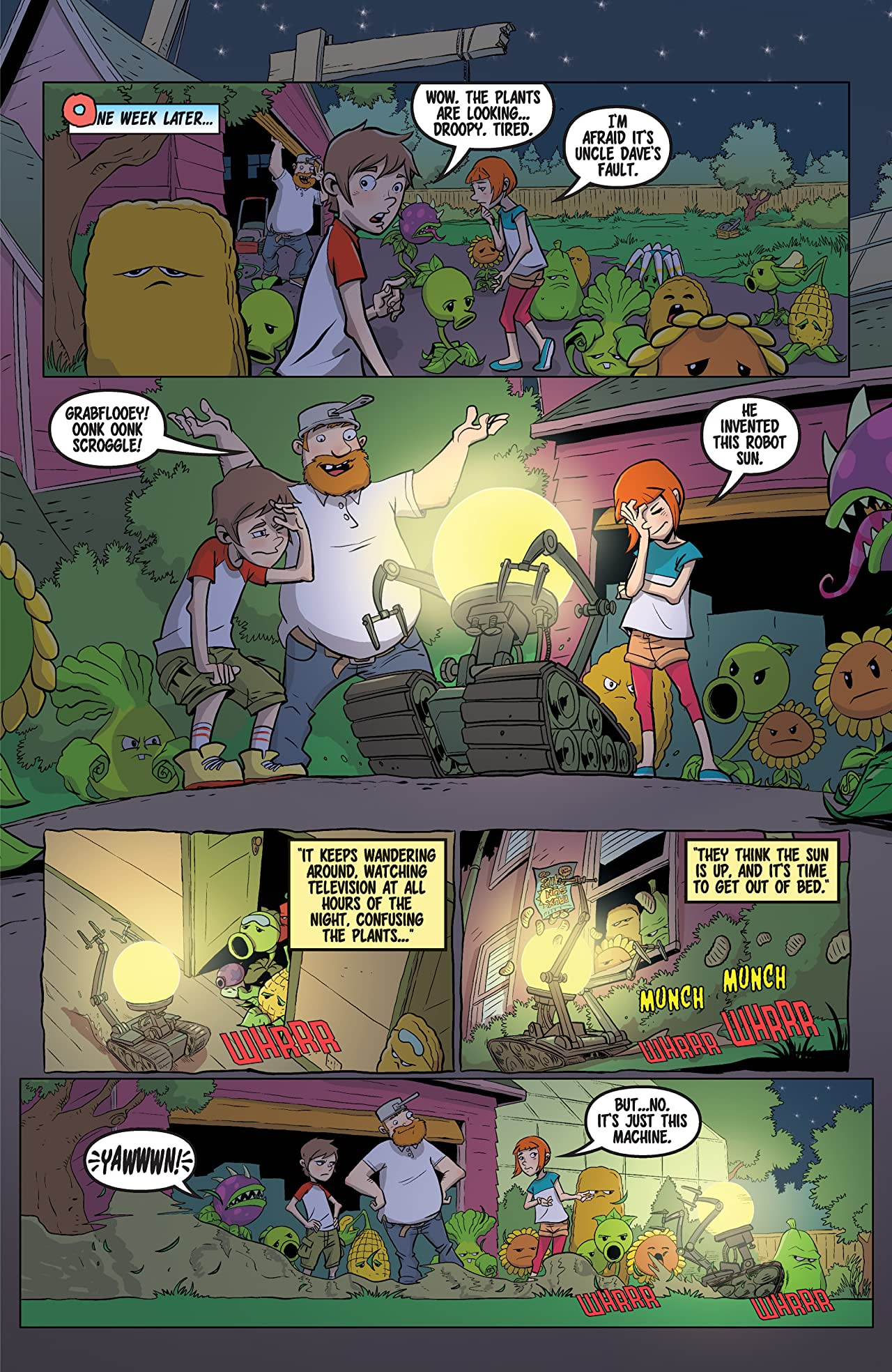 Plants vs. Zombies #4: Grown Sweet Home