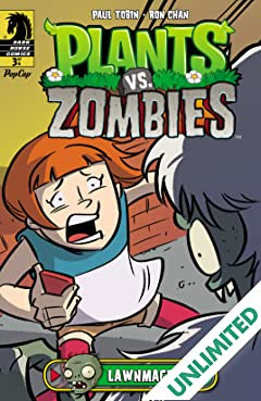 Plants vs. Zombies: Lawnmageddon #3