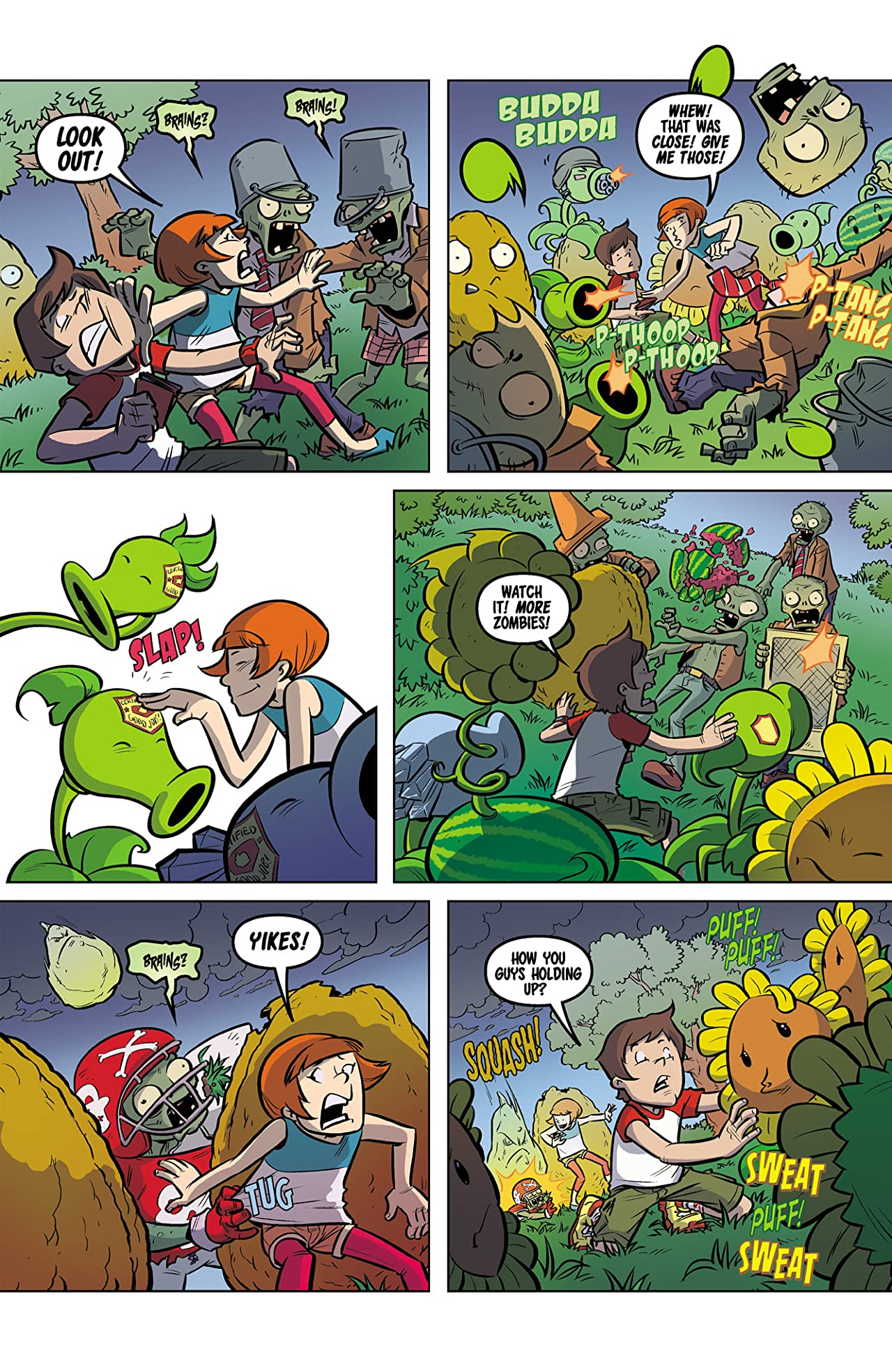Plants vs. Zombies: Lawnmageddon #5