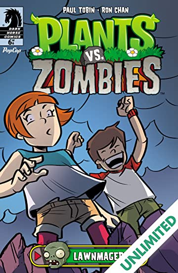 Plants Vs Zombies Lawnmageddon 6 Comics By Comixology