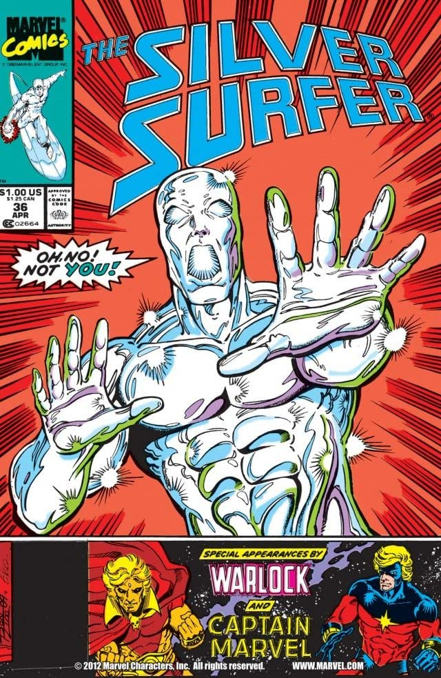 Silver Surfer (1987-1998) #36