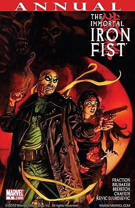 Immortal Iron Fist (2006-2009) Annual #1