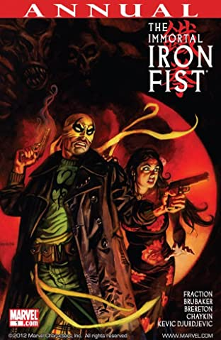 Immortal Iron Fist Annual #1