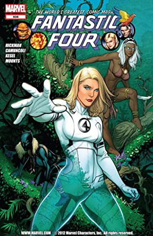 Fantastic Four (1998-2012) No.608