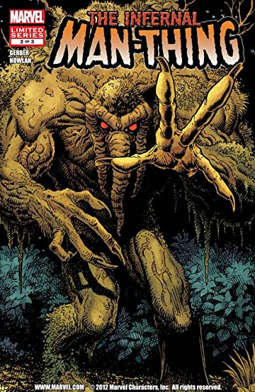Infernal Man-Thing #2 (of 3)