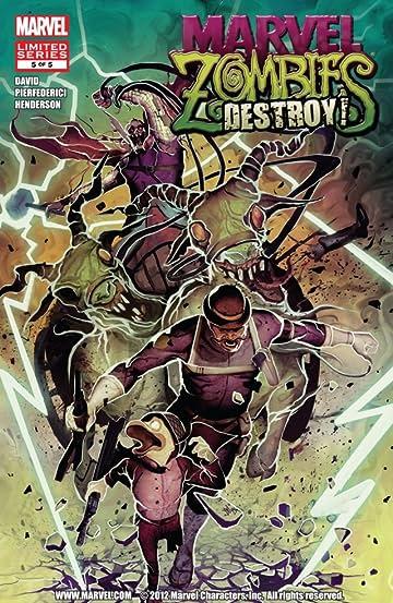 Marvel Zombies Destroy #5
