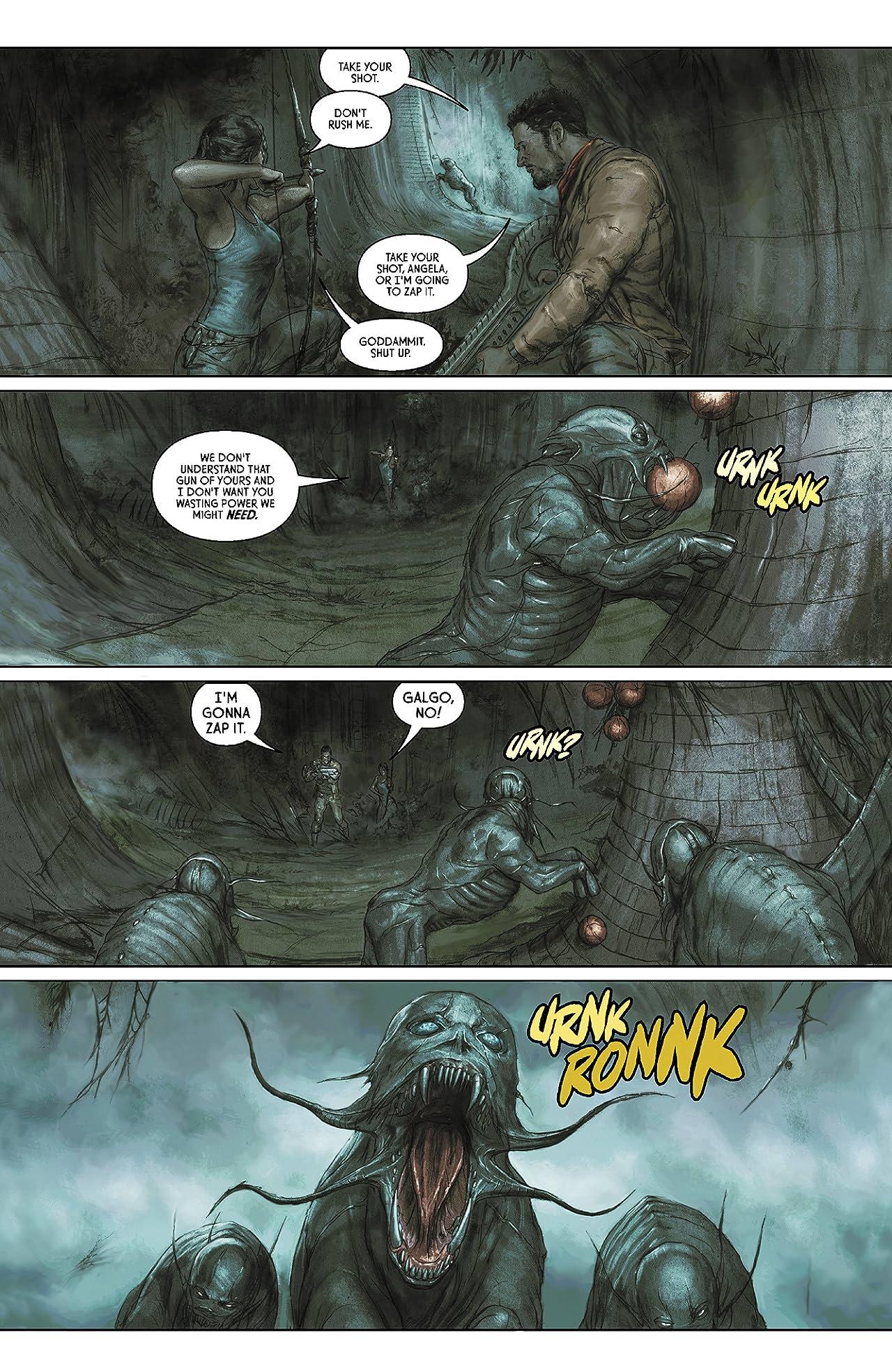 Prometheus: Fire and Stone: Omega #5