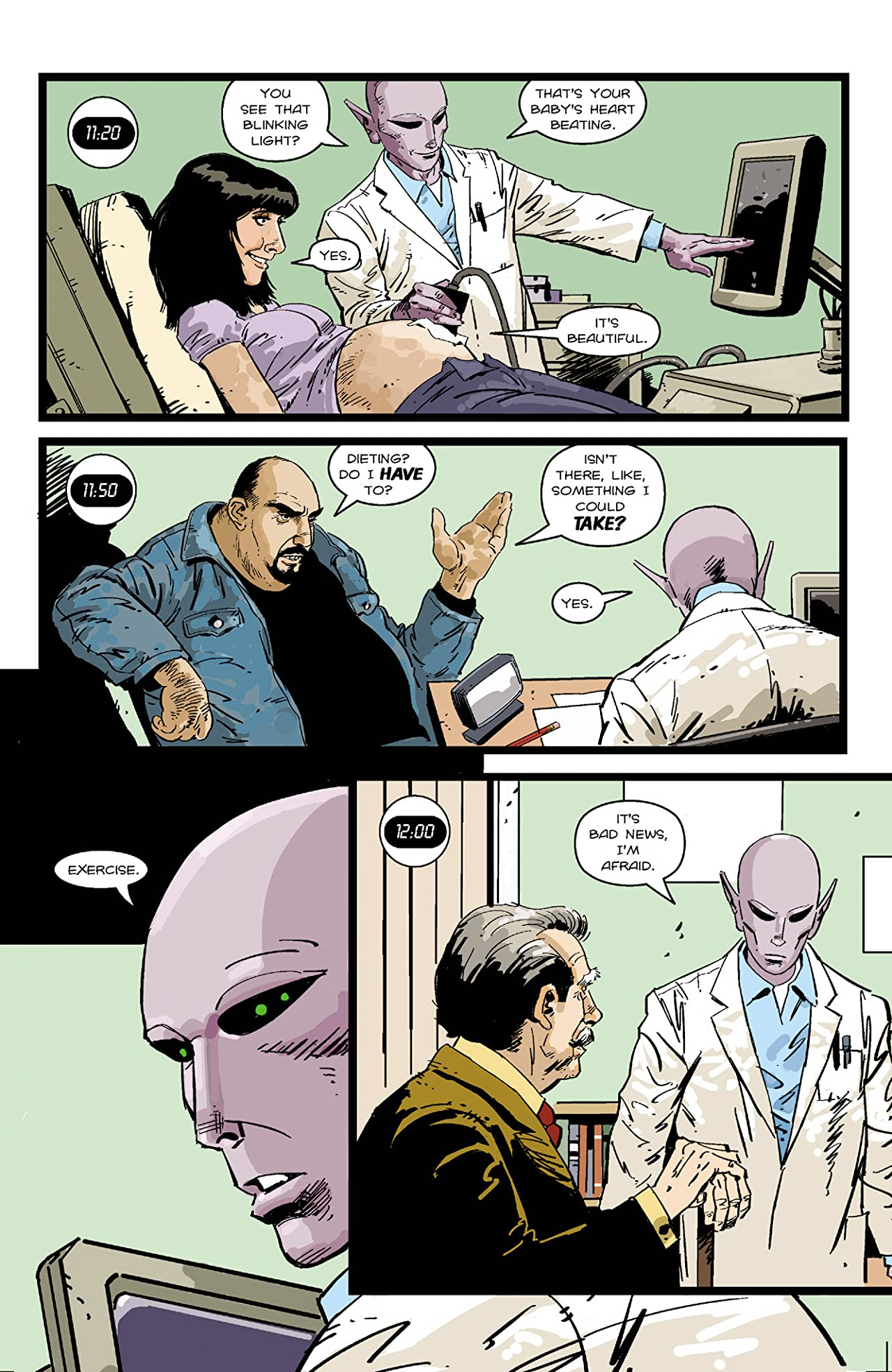 Resident Alien: The Sam Hain Mystery #1