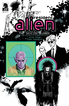 Resident Alien: The Suicide Blonde #0