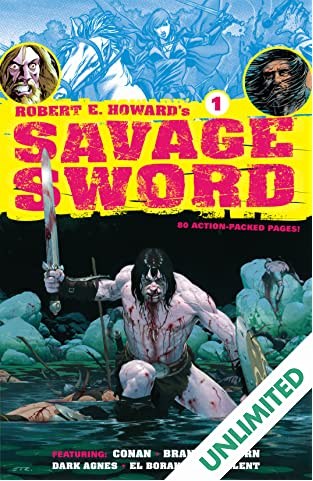 Robert E. Howard's Savage Sword #1