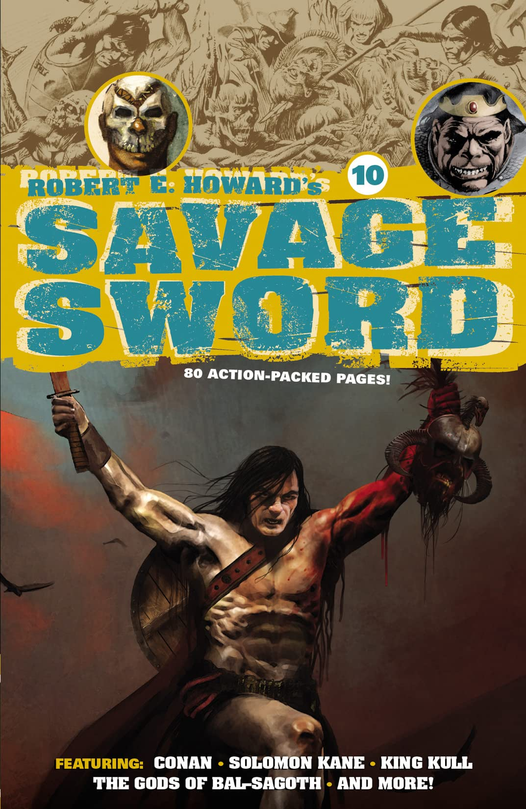 Robert E. Howard's Savage Sword #10