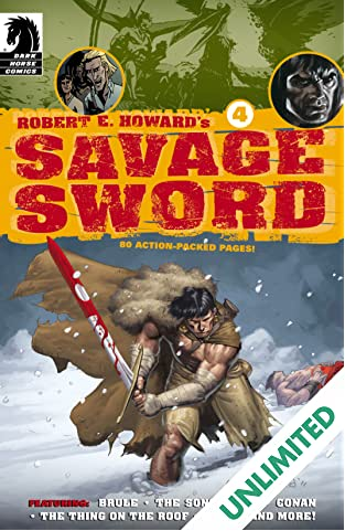 Robert E. Howard's Savage Sword #4