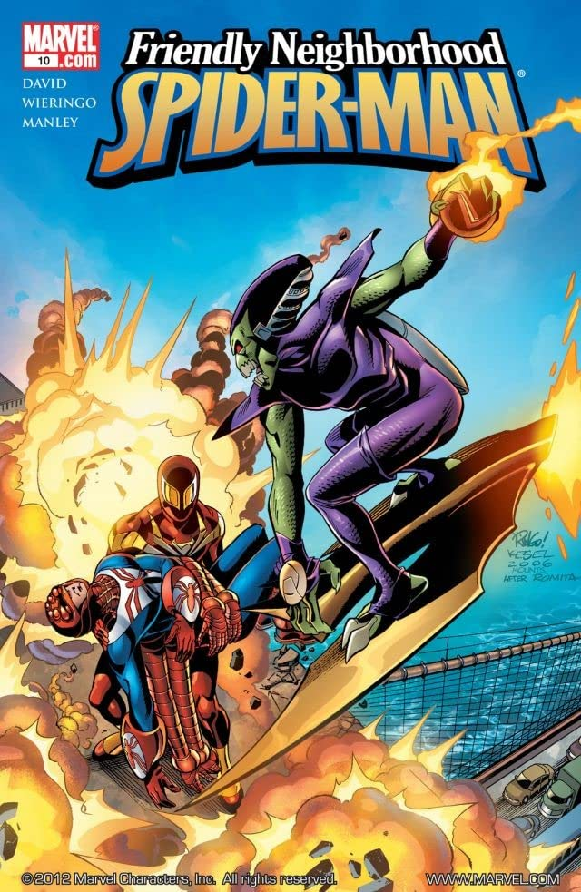 Friendly Neighborhood Spider-Man (2005-2007) #10